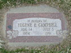 Eugene E Campbell