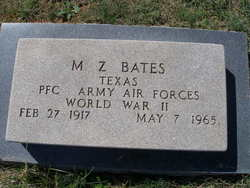 Montiville Zollie Bates, Jr