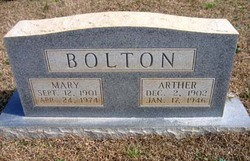 Mary <i>Lewis</i> Bolton