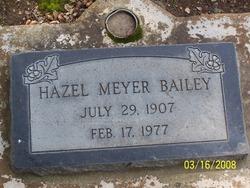 Hazel <i>Meyer</i> Bailey