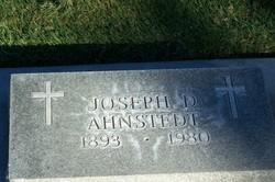 Joseph D Ahnstedt