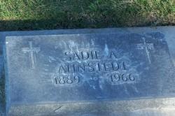 Sadie A Ahnstedt