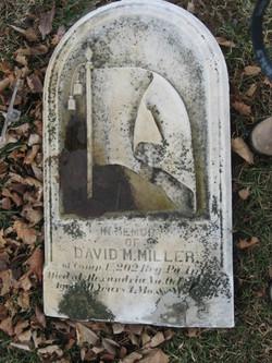 Pvt David M Miller