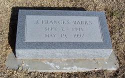 Jennie Frances Barks