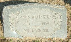 Anna <i>Hayes</i> Arrington