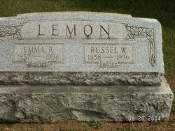 Emmeline D.H. Emma <i>Rutan</i> Lemon