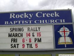 Rocky Creek Baptist Church Cemetery