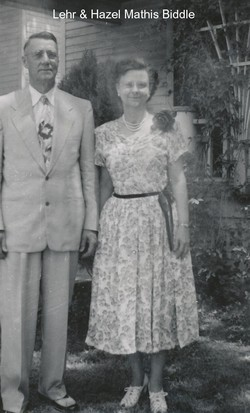 Hazel Pearl <i>Mathis</i> Biddle