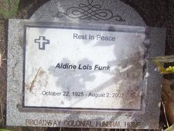 Aldine Lois <i>Pankratz</i> Funk