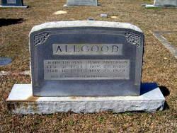 Mary Frances T. <i>Anderson</i> Allgood