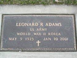 Leonard Richard Adams