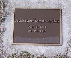 Joyce Lynne <i>Armstrong</i> Delk