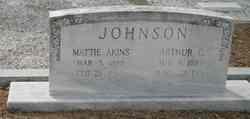 Mattie <i>Akins</i> Johnson