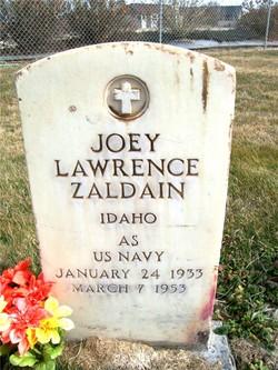 Joey Lawrence Zaldain