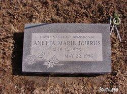 Anetta Marie Burrus