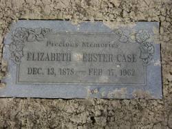 Elizabeth Webster <i>Church</i> Case