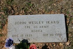 John Wesley Ikard