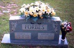 Winnie Ida <i>Stevenson</i> Forbes