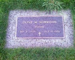 Olive May Buddie <i>Brotzman</i> Norwood