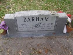 Alvis L Barham