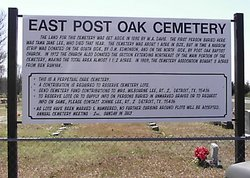 East Post Oak Cemetery