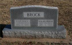 Raye <i>Stacy</i> Brock