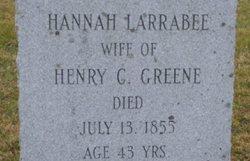 Hannah <i>Larrabee</i> Greene