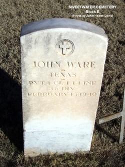 John Tenon Ware, Sr