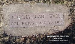 Lorena Diane Ware