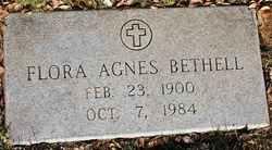 Flora Agnes Bethell