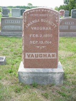 Amanda D. <i>Burnett</i> Vaughan