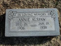 Annie Bell <i>Ritchey</i> Alspaw