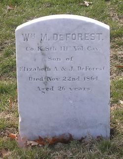 Pvt William M. DeForrest