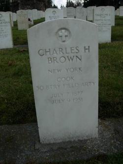 Charles H Brown