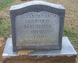 Mary Elizabeth <i>Helms</i> Abitia
