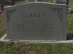 Bertha Luzetty Bell <i>Watson</i> Turner