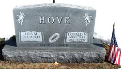 Donald M Hove