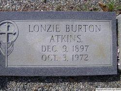 Lonzie <i>Burton</i> Atkins