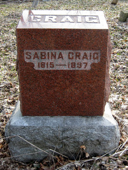 Sabina <i>Smith</i> Craig