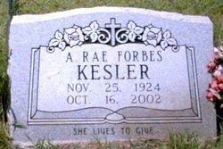 Adelaide Raymond <i>Forbes</i> Kesler