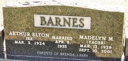 Madelyn M <i>Yager</i> Barnes