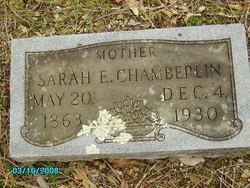 Sarah Elizabeth <i>Nazworthy</i> Chamberlin