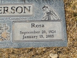 Rosa <i>Puchinger</i> Anderson