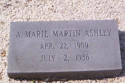Alpha Marie <i>Martin</i> Ashley