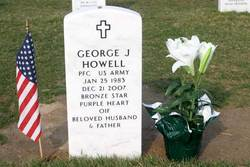 PFC George Jimmie Howell