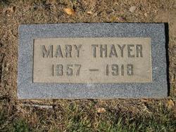 Mary E. <i>Riggert</i> Thayer