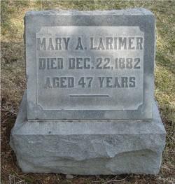 Mary Anna <i>Allison</i> Larimer