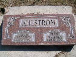 Roselia Rose <i>Riggs</i> Ahlstrom