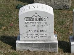 Alice B. <i>Gray</i> Arnold
