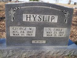 Nancy Emily <i>Watkins</i> Hyslip